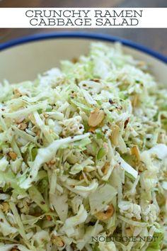 Ramen Cabbage Salad, Chinese Cabbage Salad, Chicken Potato Salad, Ramen Noodle Salad, Ramen Noodle Recipes, Lime Chicken, Ramen Noodles, Ramen Coleslaw, Coleslaw Salad