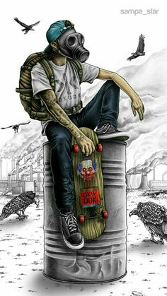 Mens Style Discover Skate Toxic wallpaper by sampa_star - - Free on ZEDGE Graffiti Art Graffiti Wallpaper Artistic Wallpaper Graffiti Tattoo Arte Dope Dope Art Joker Wallpapers Gaming Wallpapers Iphone Wallpapers Graffiti Art, Graffiti Wallpaper, Cartoon Wallpaper, Artistic Wallpaper, Graffiti Tattoo, Batman Wallpaper, Wallpaper Art, Naruto Wallpaper, Gas Mask Art