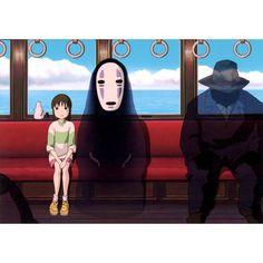 _______________________________________________________ Film: Spirited Away (2001) Director: Hayao Miyazaki Starring: Rumi Hiiragi Miyu Irino Mari Natsuki Takashi Naitô Yasuko Sawaguchi _______________________________________________________ #spirited #away #spiritedaway #2001 #film #movie #movies #anime #animation #hayaomiyazaki #hayao #miyazaki #director #actors #voiceactors #dvd #rumihiiragi #miyuirino #marinatsuki #takashinaito #yasukosawaguchi #like #follow #classic #noface by…