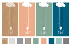 Populair geboortekaartje van een meisje op een wolk. En er is een nieuw kleurenpalet! Welke kleur zou jij kiezen? Kraft karton, oud roze, vintage groen, petrol blauw of juist iets in pastel? Je kunt ook een plaatje met een kleur mailen en dan passen wij het kaartje kosteloos aan. Zo krijg je een kaartje in bijvoorbeeld de stijl van de babykamer... | uniekkaartje.nl | Studio Altena