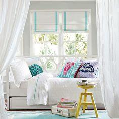 suite ribbon cordless roman shade with blackout lining pbteen girls bedroom setsgirl