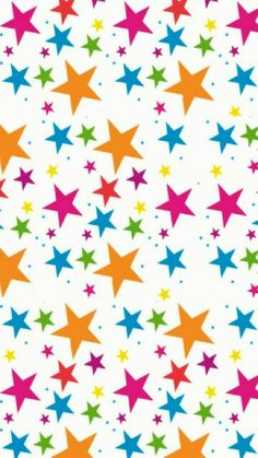 Colorful stars phone wallpaper