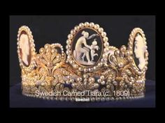 UPDATED VERSION - Tiaras from some royal and imperial families in Europe. Some of them are not anymore in their possession.