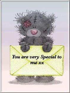 You are special Teddy Bear Quotes, Teddy Bear Images, Hugs And Kisses Quotes, Hug Quotes, Hug Pictures, Teddy Bear Pictures, Cute Love Gif, Love Hug, Special Friend Quotes