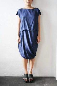 Issey Miyake Plantation Dress by weltenbuerger on Etsy, $498.00