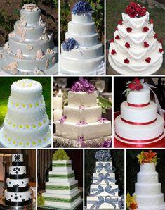 amazing unique wedding cakes | Fake Wedding Cakes — Brenda's Wedding Blog - wedding blogs with ...