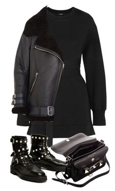 """""""Untitled #4915"""" by theeuropeancloset ❤ liked on Polyvore featuring Goen.J, Parlor, Proenza Schouler and Acne Studios"""