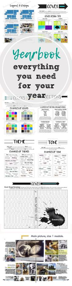 Everything you need to help your staff design, plan, and layout their yearbook. Includes examples, handouts, and activities. Plus a timeline for your year to help keep on track and meeting your deadlines.