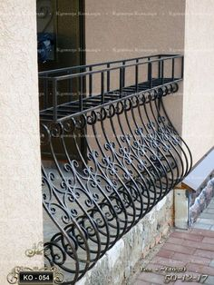 16 Ideas For Stairs Case Ideas Wrought Iron Balcony Grill Design, Balcony Railing Design, Window Grill Design, Wrought Iron Window Boxes, Wrought Iron Decor, Balustrade Balcon, Balustrades, Gate Design, Door Design