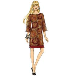 Misses'/Misses' Petite Dress Butterick Pattern by KlinesCorner