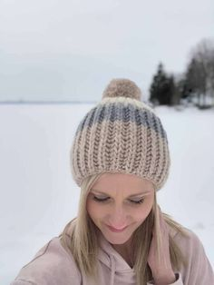 Free Fisherman's Rib Hat Knitting Pattern - French Press - Whimsy North Beanie Knitting Patterns Free, Beginner Knitting Patterns, Knitting For Beginners, Free Knitting, Baby Knitting, Hat Patterns, Knit Headband Pattern, Beanie Pattern, Easy Crochet