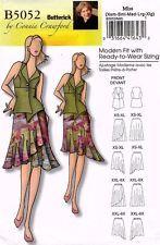 Butterick Misses' Vest and Skirt Pattern B5052 Size XS-XL UNCUT