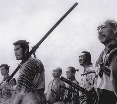"The Seven Samurai - This film would later be remade as a western called ""The Magnificent Seven."""