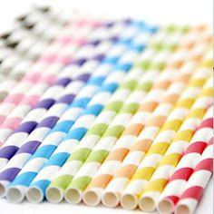 Hasta en lo mas pequeño de un evento lindo se ven los detalles... y unos de los MUSTS son los popotes de papel para las bebidas. 100%  En colores y diseños diferentes. #partydeco #partystore #partydecor #partyideas #partyshop #ideasparafiestas