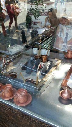 Mangalda Türk kahvesi - Eminönü