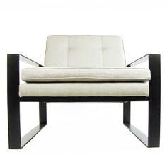 ARCHER Steel Line Lounge Chair