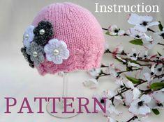 Baby Hat P A T T E R N  Knitting Baby Hat Baby by Solnishko43