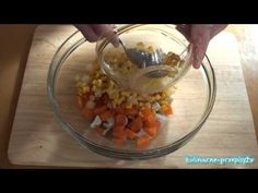 Przepisy kulinarne - dobre i łatwe przepisy - Sałatka z kurczaka