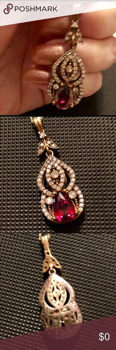Beautiful pendent. 925 beautiful pendant need to be cleaned Jewelry Necklaces