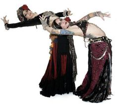 Carolena Nericcio, fat chance Belly dance and Rachel Brice