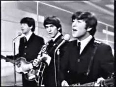 The Beatles - I Want to Hold Your Hand - The Ed Sullivan Show (1964), I along with millions of other kids in the U.S. watched The Ed Sullivan Show the night of The Beatle first appearance on the show. I had the album and even got the haircut. I had their pictures on my wall. I was a Beatles fan.