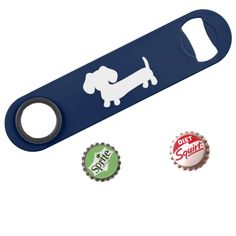 For less than $15 you can put  smile on your Dad's face every weekend with a sausage dog bottle opener from The Smoothe Store where dachshund dude goods are our specialty.