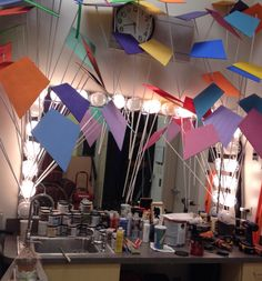 Let's Go Fly A Kite....set design props in the making.  Mary Poppins at Dr Manuel C Barreiro elementary...