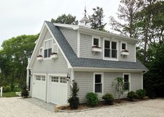 Detached Garage with deck   Loft   traditional   Garage And Shed   Boston    Capewide Enterprisesmodular garages with apartment     perfect garage is over two  . Modular Garages With Apartment Massachusetts. Home Design Ideas