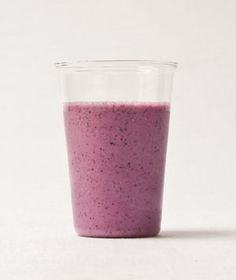 Gingery Berry & Oat Smoothie    Serves 1| Hands-On Time: 05m | Total Time: 20m  Ingredients  1/4 cup old-fashioned rolled oats  1/2 cup frozen blueberries  1/2 cup plain low-fat yogurt  1/2 cup ice  2 tablespoons brown sugar  1/4 to 1/2 teaspoon grated fresh ginger  Directions  Place the oats and ½ cup water in a blender.  Let soak until the oats have softened, about 15 minutes.  Add the blueberries, yogurt, ice, sugar, and ginger.  Blend until smooth and frothy.