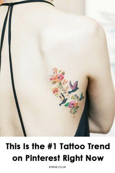 Looking for pretty tattoo ideas? Try our edit of the best color tattoos on Pinterest.