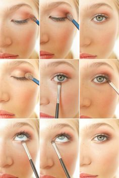 DIY Eyeshadow For Your Eye Color: Green/Hazel via oncewed.com