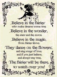 Read now: 24 Fairy Quotes. You can teach children about cultural differences with fairy tales. Find and save 24 Fairy Quotes. Fairy Quotes, Quotes About Fairy Tales, Elf Quotes, Make Dreams Come True, Dream Come True, Fairy Doors, Childrens Room Decor, Fairy Art, Magic Fairy
