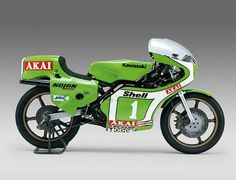 Kawasaki KR250. Hugely successful racer bought much success to Kork Ballington and Mick Grant.