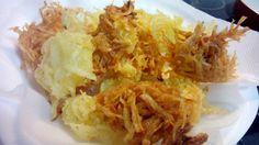 Nidos de patatas fritas – Nidi di patate fritte italian food, italian recipes, cocina italiana, comida italiana