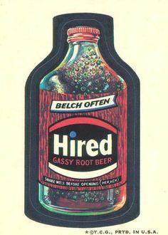 Wacky Packages 3rd Series 1973 | OldBrochures.com