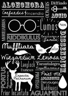 WallPotter: Feitiços Harry Potter