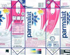 Resultado de imagem para rotulos e embalagens de produtos parmalat