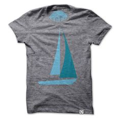 Sailboat T-shirt Crewneck, 25€, now featured on Fab.