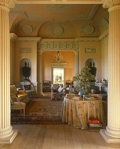 English drawing room Gervase Jackson Stops The Menagerie