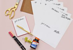 DIY notepads make a perfect last minute stocking stuffer