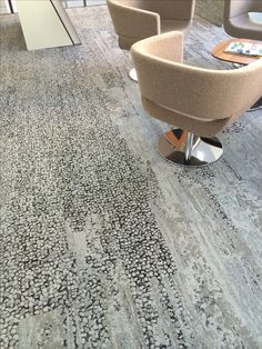 Carpet tile planks, Human Nature by Interface.,commerical office ideas, office design