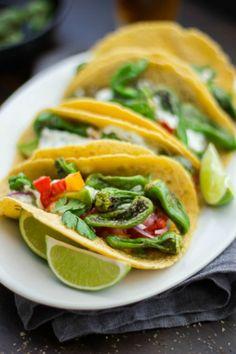 10 Veggie Taco Recipes - Mountain Mama Cooks