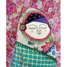 Chilled out matryoshka stylee lady :)
