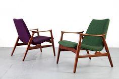 Easy Chair 240 by Arne Hovmand-Olsen for Mogens Kold.