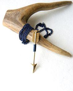 Arrow necklace   #jewelry #arrow #handmade