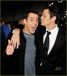 Steve-O and Knoxville