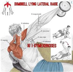 Lying Lateral Raise