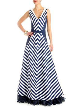 Simple Long Dress, Simple Dresses, Casual Dresses, Corsage, Stripes Fashion, Striped Maxi Dresses, Curvy Outfits, Women's Fashion Dresses, Pattern Fashion