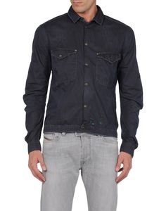 688f772202 Diesel black gold Men - Denim - Denim shirt Diesel black gold on YOOX