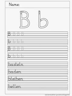 hier im üblichen Stil 6 Arbeitsblätter zum Schreiben     euch einen schönen Tag   LG Gille   Schrift: Grundschrift Will Software     hier e...